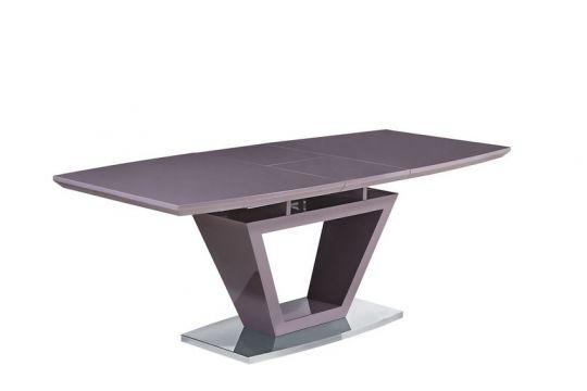 Стол MK-5803-CP цвет: Cappuccino - прямоугольный раскладной