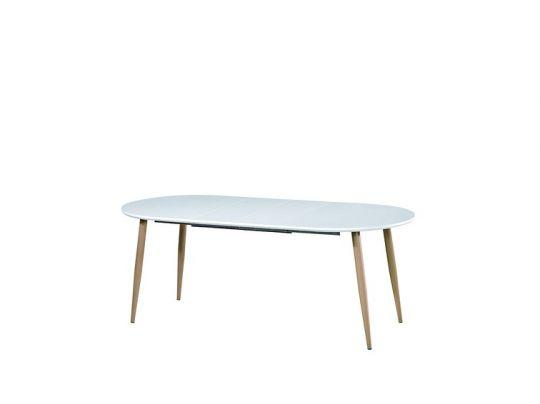 Стол Plano цвет: White - овальный раскладной